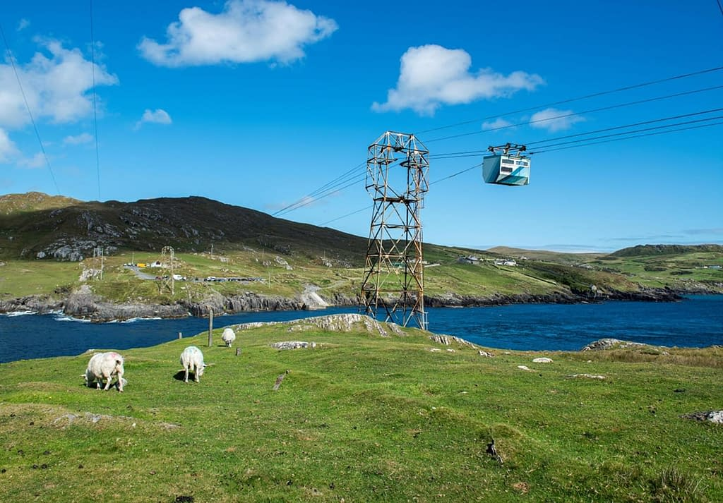 Beara Peninsula Dursey Island cable car