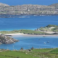 stunning view from coomakista on the ring of kerry
