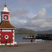 Clock tower on Valentia Island
