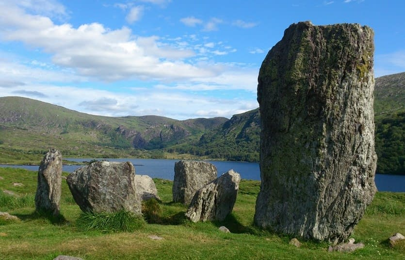 History and scenery combined, off the beaten path. The Uragh Stone Circle, Beara, Ireland