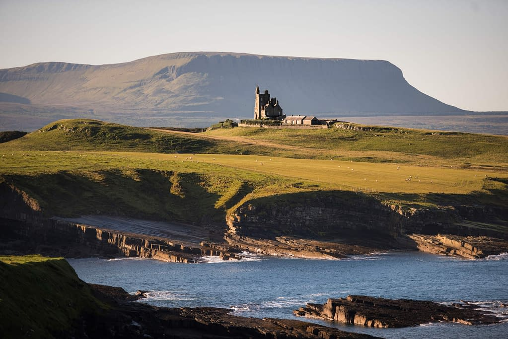 Mullaghmore Head and Classiebawn Castle