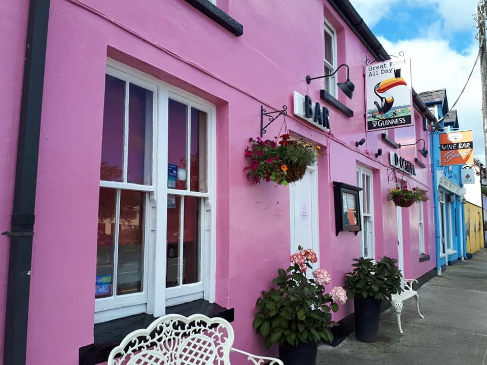 Pub front, Sneem, Ring of Kerry, Ireland