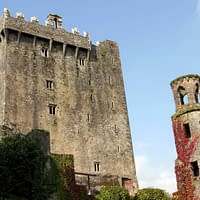 Blarney Castle and tower in the Autumn